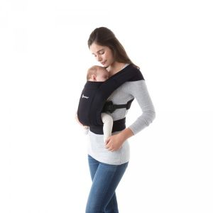 Ergobaby Porte-bébé physiologique embrace noir intense
