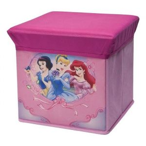 Delta Children Pouf de rangement Disney Princesses