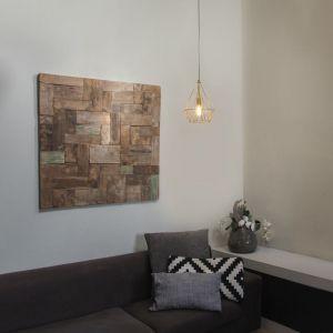 Qazqa Suspension Carcass Basic or Design, Moderne Minimaliste Vintage Cage Lampe Luminaire interieur Rond