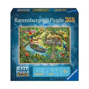 Ravensburger Escape puzzle Kids 368 pièces : Un safari dans la jungle - Mixte