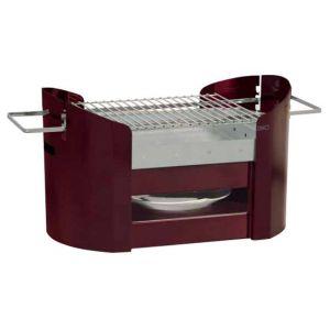 Don hierro DON-0100 - Barbecue portatif en acier galvanisé