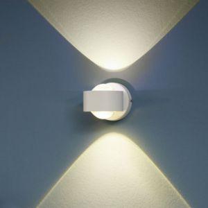 Eglo Applique intérieur Ono 2 LED L9cm - Blanche
