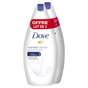 Dove Nutrition Intense - Douche soin nourrissante 400 ml