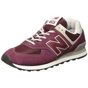 New Balance Ml574 chaussures bordeaux 43 EU