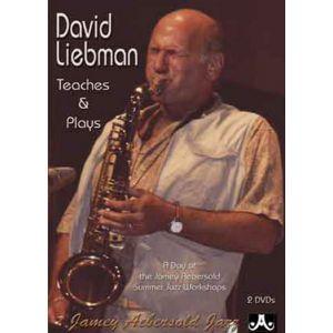Jamey Aebersold LIEBMAN DAVID - TEACHES AND PLAYS 2DVD - SAXOPHONE