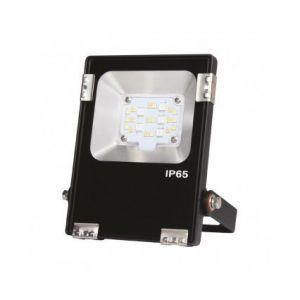 Vision-El Projecteur extérieur LED - 10W - RGB+Blanc - Noir