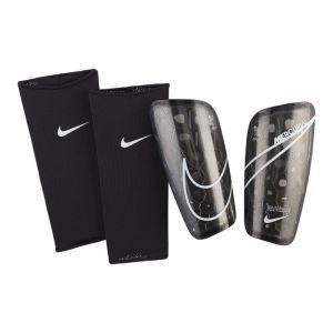 Nike NK MERC LT GRD protège-Tibias Mixte Adulte, Black/White, FR (Taille Fabricant : XL)