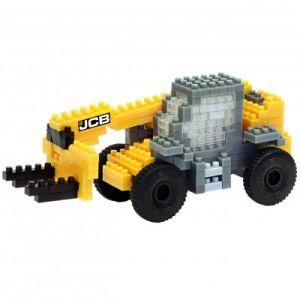 Brixies Nano Puzzle 3D - JCB Chariot Télescopique