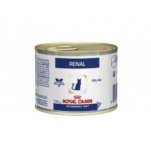 Royal Canin Veterinary Diet Renal boîte pour chat - 195 g 1 x 12 boites