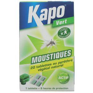 Kapo Moustiques émanateur électrique vg Recharge 100 %
