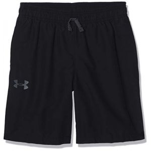 Under Armour Woven Graphic Short Garçon, Noir, FR (Taille Fabricant : YSM)