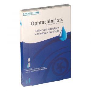 Chauvin arnoux Ophtacalm 2 % - Collyre