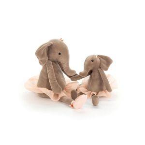 Jellycat Peluche éléphant danseuse étoile dancing darcey elephant petit