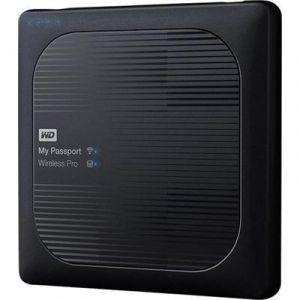 Western Digital WDBSMT0040BBK - My Passport Wireless Pro 4 To USB 3.0 Wifi