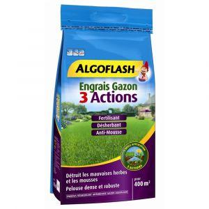 Algoflash Engrais gazon 3 actions 12 kg