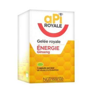 Nutrisanté API Royale Gelée Royale Energie Ginseng 30 capsules
