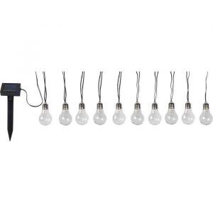 Globo Lighting Guirlande solaire avec ampoules