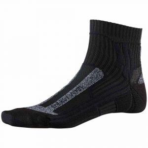 X-Socks Marathon Energy Chaussettes course à pied Femme, opal black EU 37-38 Chaussettes de compression