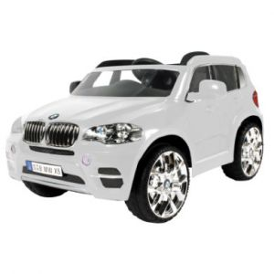 Rollplay SUV BMW X5 Blanche 12V RC