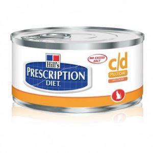 Hill's Prescription Diet c/d feline - 12 boîtes 156 g