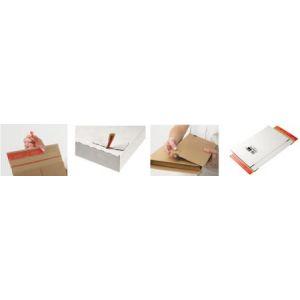Mailmedia CP 065.56 - Carton d'expédition type courrier, dim. intérieures (L)244 x (P)344 x (H)45 mm