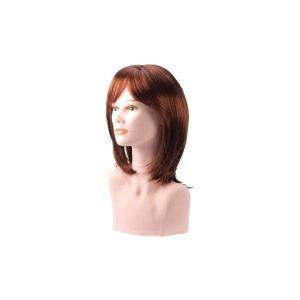 Beautydis Maria - Perruque mi-longue 25-30 cm Blond cuivré 7.4