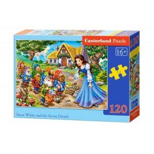 Castorland Blanche Neige et les 7 nains - Puzzle 120 pièces