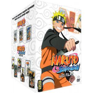 Naruto & Naruto Shippuden - Les 9 films - Coffret DVD - Edition limitée