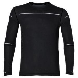Asics Lite-Show - T-shirt manches longues running Homme - noir M T-Shirts Running