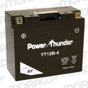 Power Thunder Batterie YT12B-4 GEL