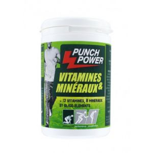 Punch power Vitamines & Minéraux 60 capsules (pilulier)