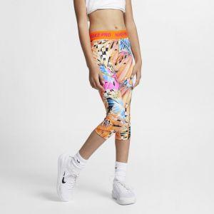 Nike Corsaire imprimé Pro pour Fille plus âgée - Orange - Taille L - Female