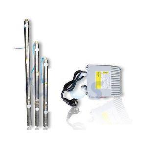 """Omni Pompe immergée 3"""" pour puits 3T/32 750W 230V - câble 20m"""