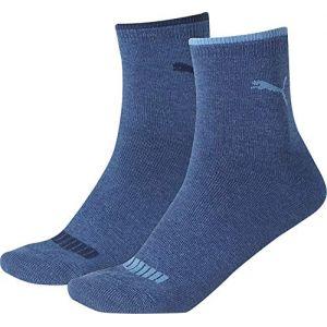 Puma Chaussettes et collants -underwear Lifestyle Short Sock 2 Pack - Jeans - EU 39-42
