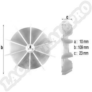 Procopi 978122 - Ventilateur de moteur de surpresseur Euro Com
