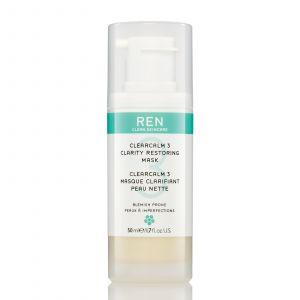 REN Clearcalm 3 - Masque clarifiant peau nette