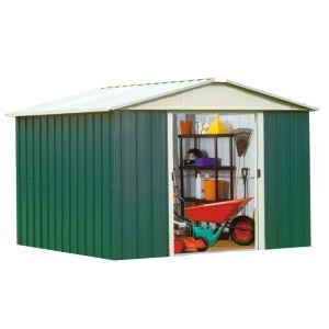 Yardmaster 1010GEYZ - Abri de jardin en métal 8,12 m2