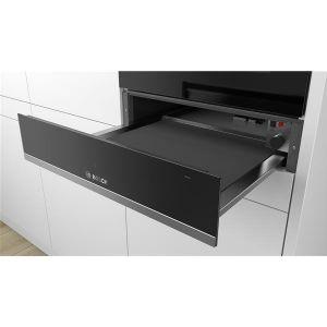 Bosch bic510ns0 - Tiroir chauffant 14 cm noir/inox