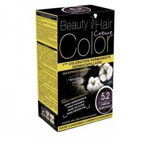 Eric Favre Beauty Hair Color 5.2 Châtain Clair Violet - Coloration permanente dermocapillaire aux extraits végétaux