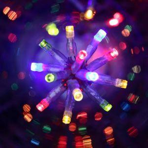 Pegane Guirlande lumineuse extérieure 300LED LUX Multicolore - 18 mètres -