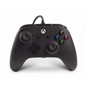 PowerA Manette filaire nouvelle version avec 2 palettes pour Xbox One - noir