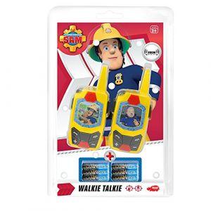Dickie Toys Talkie Walkie Sam le pompier