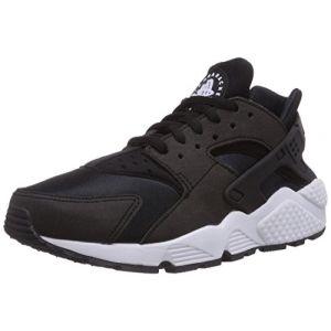 Nike Air Huarache Run, Noir (Black-White), 44.5 EU