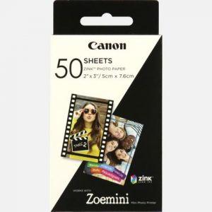 Canon Papier photo 50 feuilles ZINK pour ZOEMINI