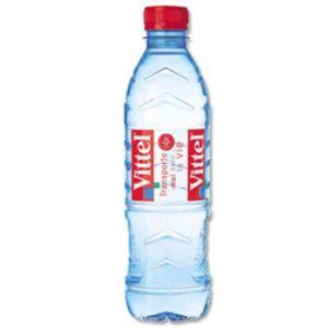 Vittel Eau minérale naturelle - La bouteille de 50cl