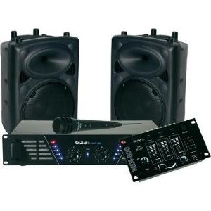 Ibiza Sound DJ300 MKII - Kit de sonorisation
