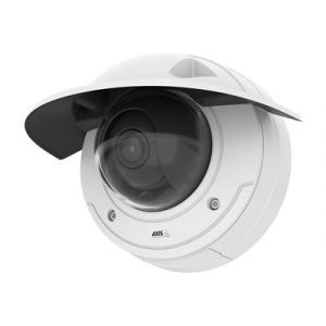 Axis P3375-VE Network Camera - Caméra de surveillance réseau - dôme - à l'épreuve du vandalisme - couleur (Jour et nuit) - 1920 x 1080 - 1080p - à focale variable - audio - LAN 10/100 - MPEG-4, MJPEG, H.264, AVC - PoE
