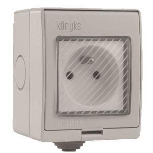 Konyks Pluviose - Prise smart - sans fil - Wi-Fi - 2.4 Ghz
