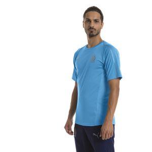 Puma Maillot d'entraînement Olympique de Marseille pour Homme, Bleu, Taille XS |