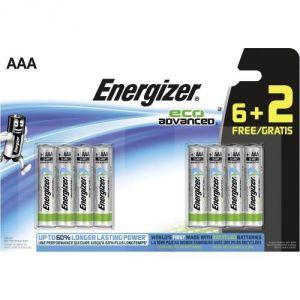 Energizer 8 piles AAA LR03 EcoAdvanced